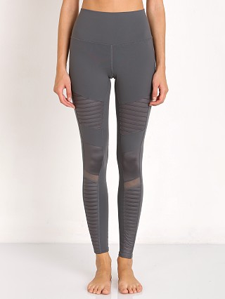 alo High Waisted Moto Legging Slate
