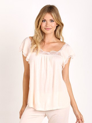 Complete the look: Eberjey Estelle Flutter Short Sleeve Cami