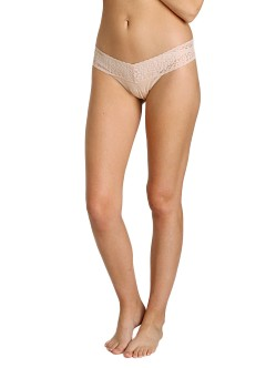 Hanky Panky Logo To Go Low Rise Thong Chai