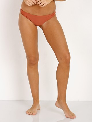 JADE Swim Lure Bikini Bottom Terracotta