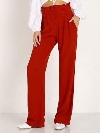 Model in spice Flynn Skye Ruffle Pant