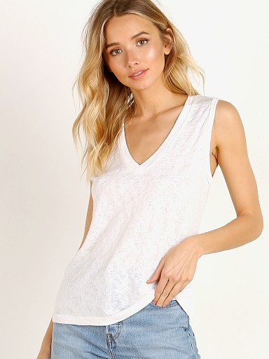 LNA Clothing Brig Tank White