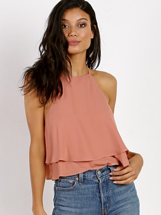 Show Me Your Mumu Evie Crop Top Rustic Mauve Crisp