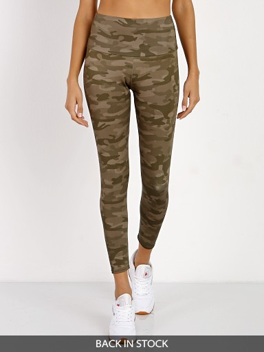 Onzie High Rise Long Legging Moss Camo