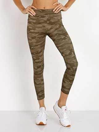 Onzie High Rise Basic Midi Grey Moss