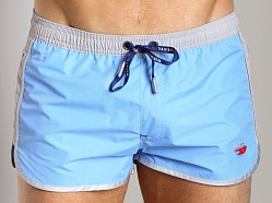 Diesel Reef Swim Shorts Powder Blue