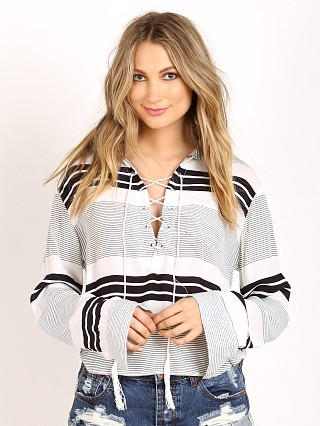 Faithfull the Brand Blake Crop Shirt Cabana Stripe