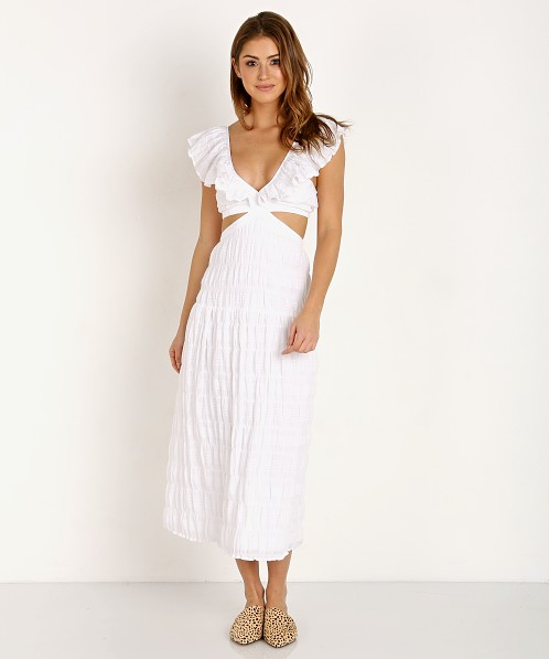 Suboo Daydreamer Maxi Dress White