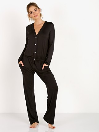 Eberjey Maya Long Sleeve Jumpsuit