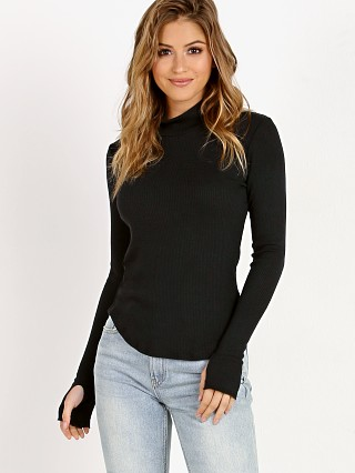 LNA Clothing Sloane Turtleneck Black