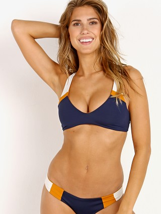 Complete the look: L Space Rylie Reversible Bikini Top Midnight Blue