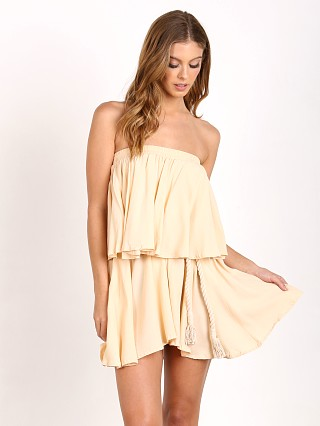 Faithfull the Brand Romy Dress Plain Nude