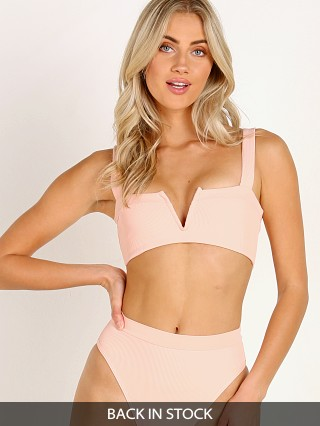 L Space Lee Lee Bikini Top Cherry Blossom