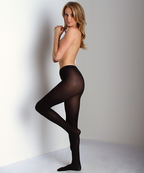 Philippe Matignon Cashmere Blend Tights Nero