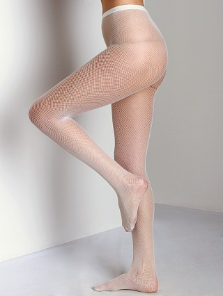 Philippe Matignon Retina Fishnet Tights Avorio