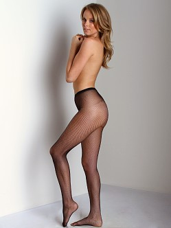 Philippe Matignon Retina Fishnet Tights Nero