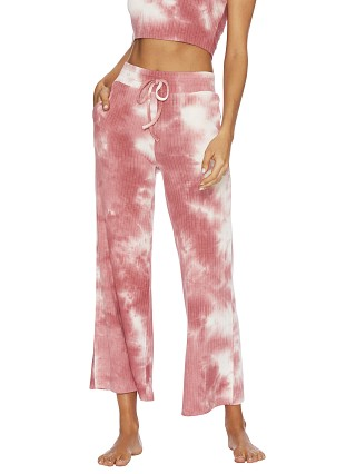 Beach Riot Hayley Pant Orchid Smoke Tie Dye