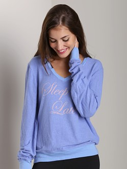 Wildfox Couture Baggy Beach Jumper Sleep in Late
