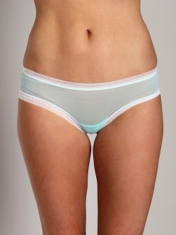 Cosabella Dream Low Rise Hot Pant Venetian Green