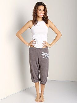 WILDFOX Crop Morning Sweats LGA Bottoms Firestone