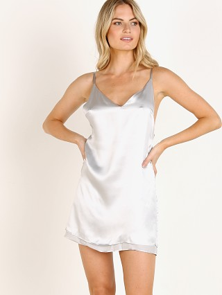 Only Hearts Silk Reversible Slip Dresss Silver