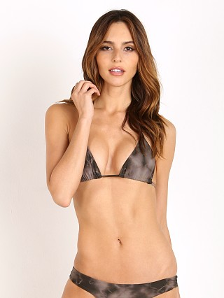Bettinis Triangle Bikini Top Sand