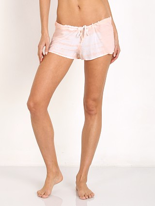 Bettinis Dip Dye Shorts Peach