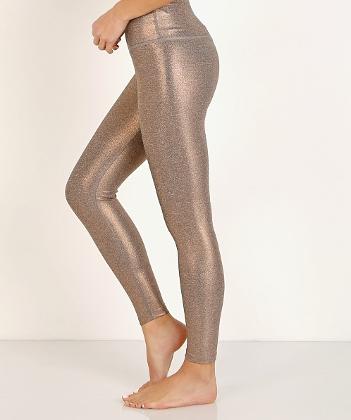 Beyond Yoga Dusted High Waisted Midi Legging Rose Gold Dusted