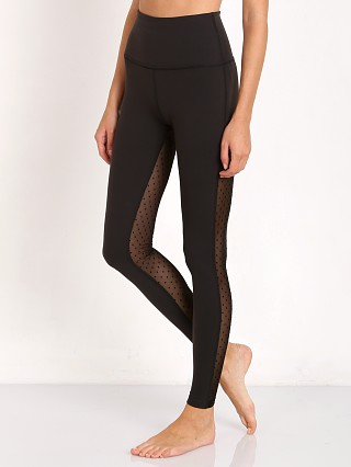 Beyond Yoga Polka Dot Mesh High Waist Legging