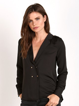 L'Academie The Military Blouse Black