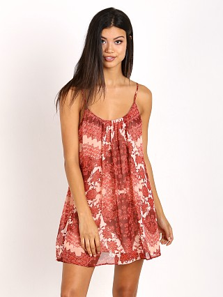Show Me Your Mumu Trapeze Mini Dress Happy Henna