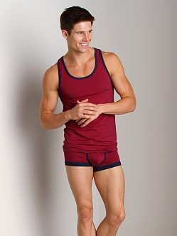 2xist Sail Tank Top Brick Red