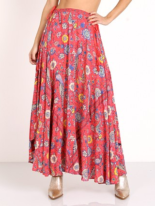 Spell Lovebird Half Moon Skirt Rose