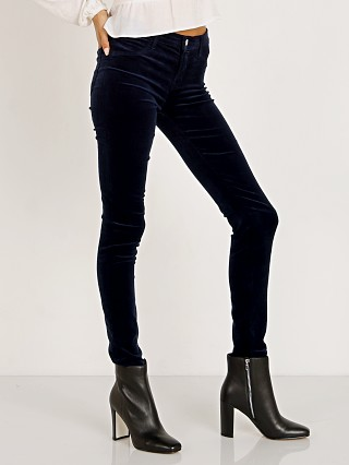 J Brand 815 Mid Rise Super Skinny Night Out Velvet