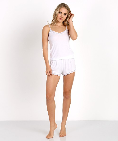 Only Hearts Feather Weight Cami White
