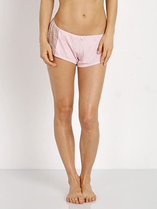 Complete the look: Only Hearts Venice Hipster with Lace Inserts Petal Pink
