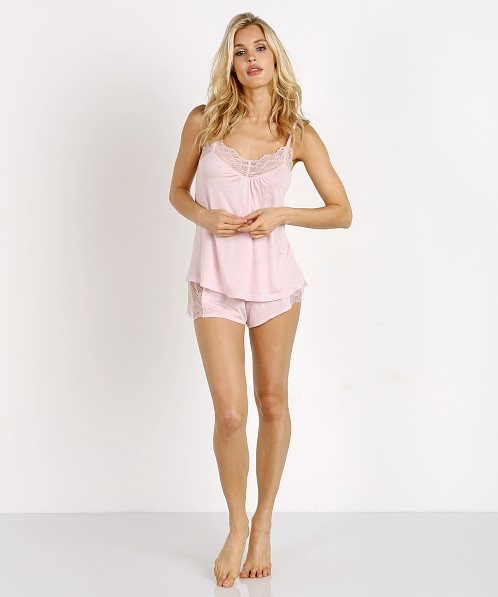 Only Hearts Venice Hipster with Lace Inserts Petal Pink