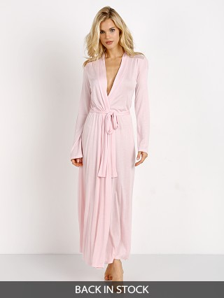 18f1dd3649 Only Hearts Venice Long Robe With Lace Petal Pink