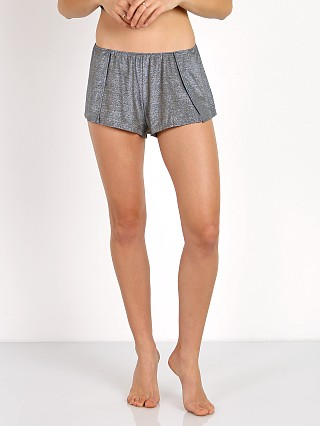 Complete the look: Only Hearts Metallic Shorts Gunmetal