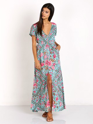Spell Babushka Gown Turquoise