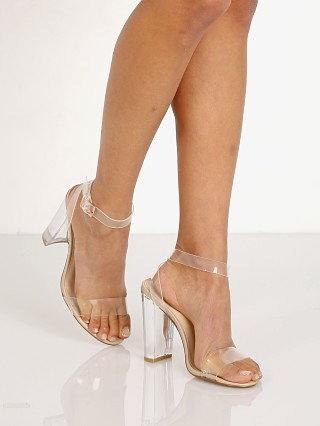 Steve Madden Camille Heel Clear