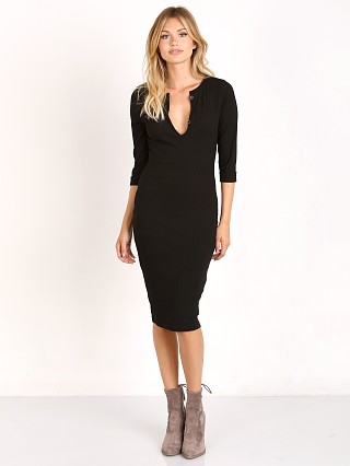 MinkPink Midnight Mischief Midi Dress Black