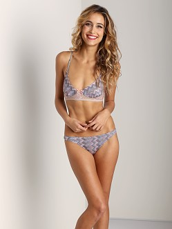 Only Hearts Crazy in Love Soft Cup Bra Silver