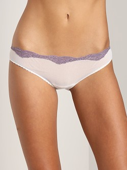 Only Hearts Tulle with Lace Bikini Creme/Shadow