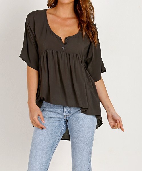 Novella Royale The Heike Blouse Washed Black