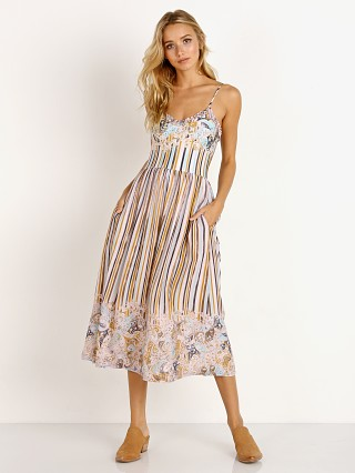 Novella Royale The Camille Dress Dusty Rose Stripe