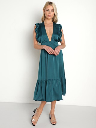 Stillwater The Jesse Midi Dress Emerald