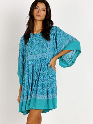 Spell & The Gypsy Jewel Tunic Dress Emerald