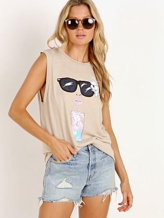 Complete the look: WILDFOX Happy Hour Vintage Muscle Tank Maderas Tan