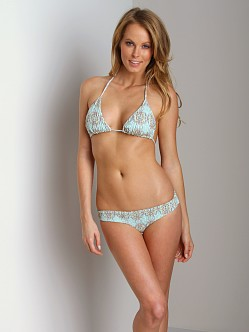 Tori Praver Kalani Bikini Top Joshua Tree Sea Glass
